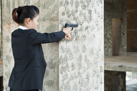 fbi: Agent de femme FBI Banque d'images