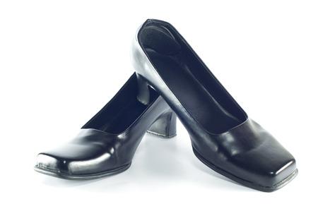 Woman shoe isolated on white background  Stock Photo