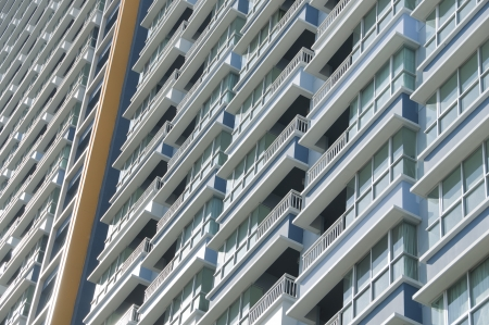 Building balcony