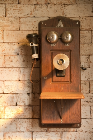 Antique telephone photo