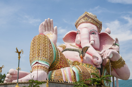 Ganesh statue  photo