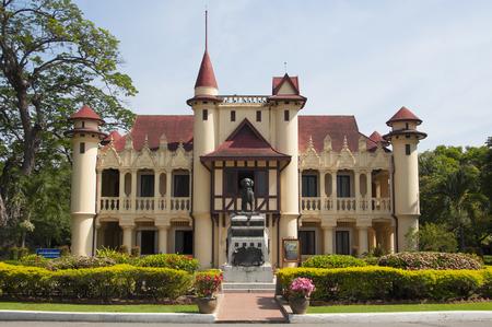 rama: King Rama IV grand palace, Thailand  Editorial