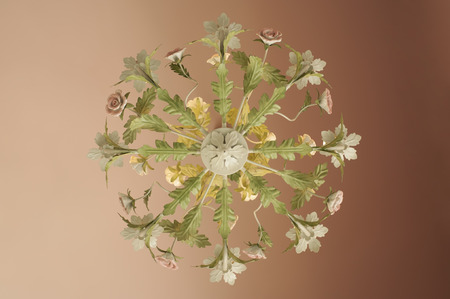 Flower chandelier  photo