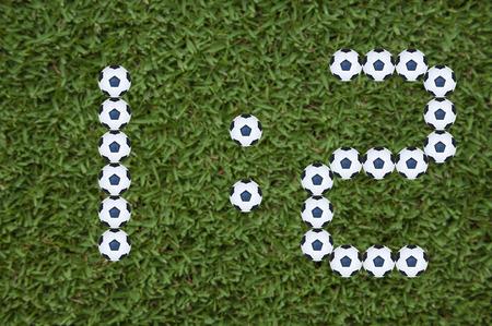 segmento: 7 Segment score report di calcio Pattern Match