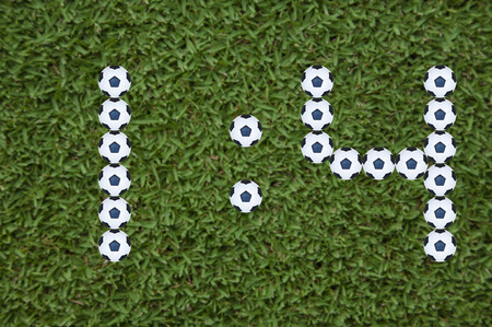 7 Segment pattern football score match report