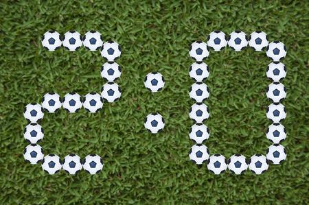segmento: 7 Segment score report Calcio modello partita