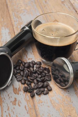 hot temper: Equipo de caf� y caf� caliente
