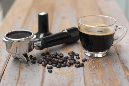 bottomless: Hot coffee and coffee making equipment