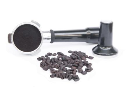 コーヒー豆とコーヒー機器免震