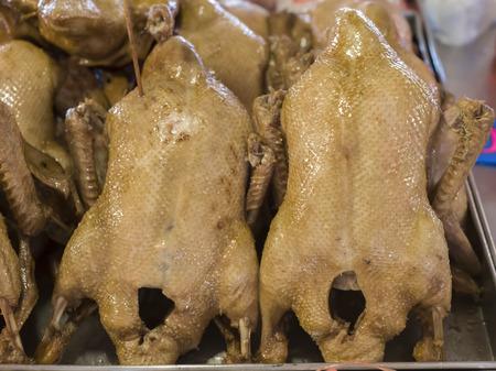 stewed: Stewed duck