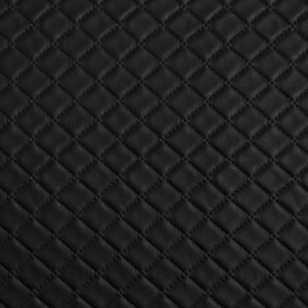 Black leather texture close up. photo