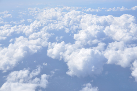 Over the cloud in the sky, beautiful nature phenomenon, Banque d'images - 111129417
