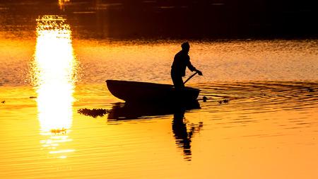 mornings: Mornings at Hebbal lake Stock Photo