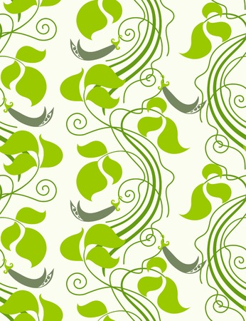 green peas: Nature. Seamless background.