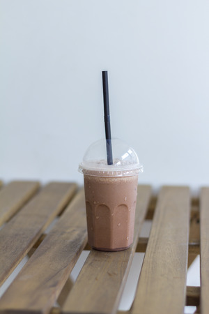 cofe: ice blended chocolate