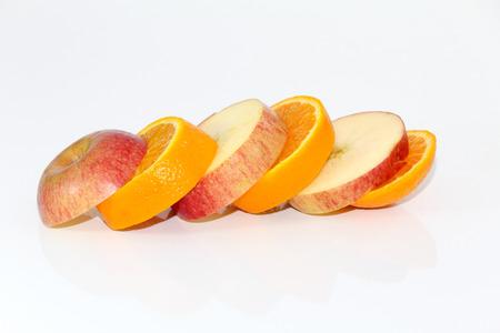 transgenic: Apple and orange fruit