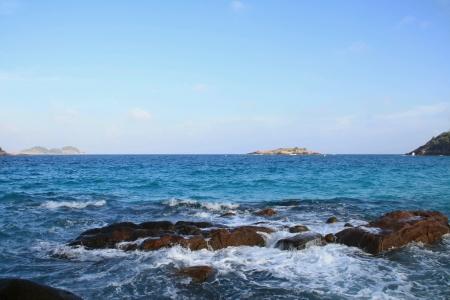 redang: beautiful view of redang island penang Stock Photo