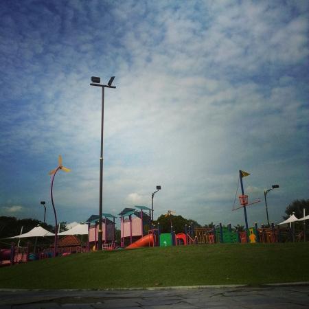 titiwangsa: Playground at taman tasek titiwangsa
