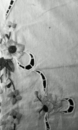 Black and white cotten