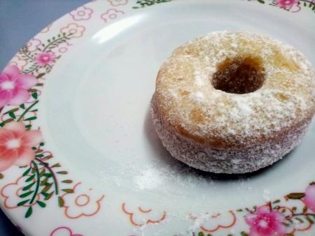 Tasty delicious doughnut