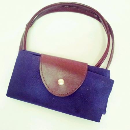 Blue color purse