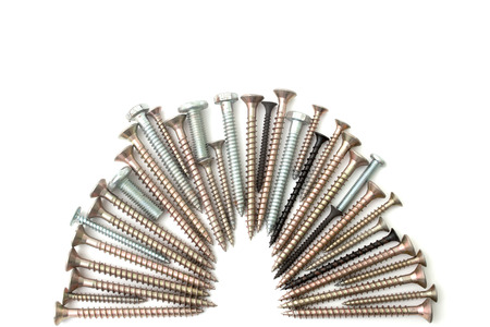 s screw and bolts isolated background photo