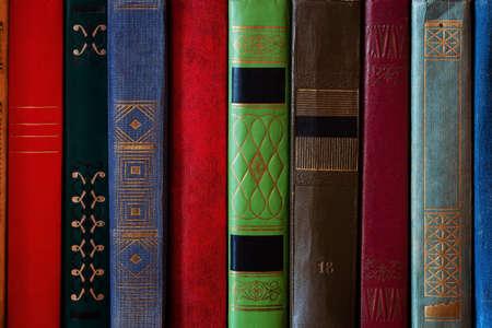 cover hardcover books closeup