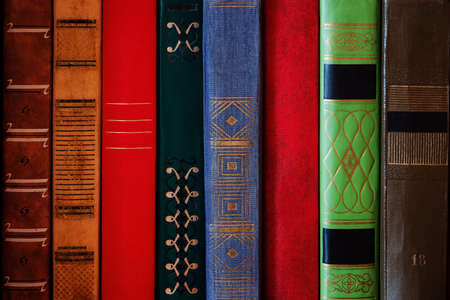 books for study close up concept learning