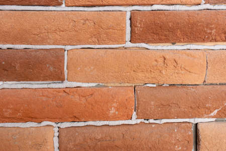 background of bricks closeup texture Stock Photo