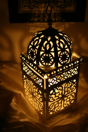 Oriental Candle Holder