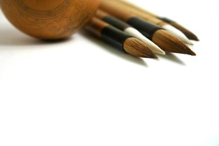 Chinese paint brushes