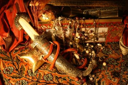 Oriental treasure Stock Photo