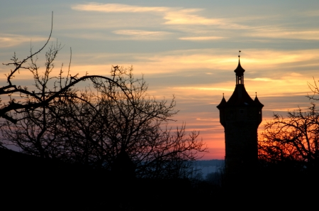 rapunzel: Rothenburg ob der Tauber Germany