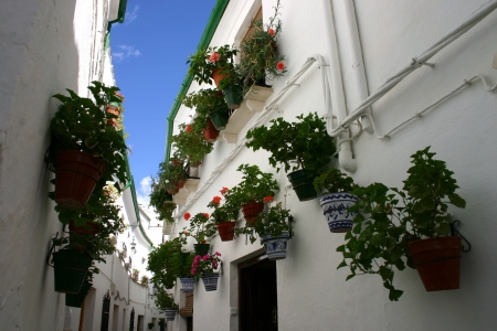 White houses of Andalusia Stock Photo