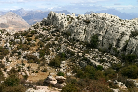 Torcal de Antequera, Andalusia, Spain Stock Photo - 15172487
