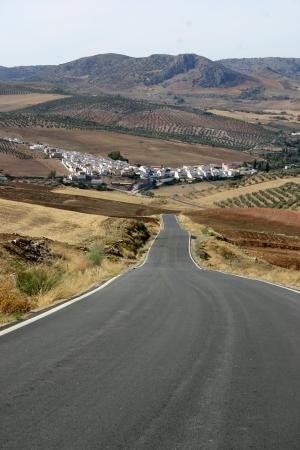 Road to Serato Stock Photo