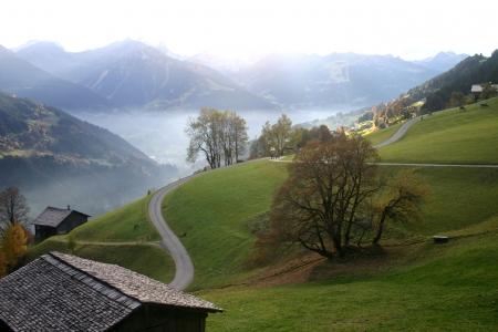 Mountain view Silbertal, Austria