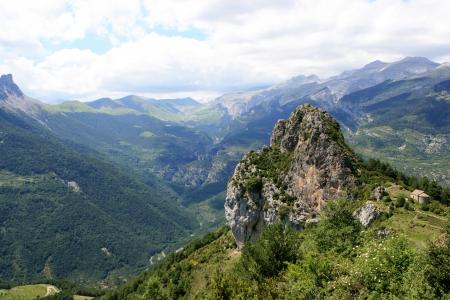 hermits: Hike Ruta de las Ermitas, spanish pyranees near Tella Ordesa National Park