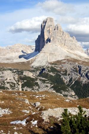Mountain  Die 3 Zinnen  Tirol Italy