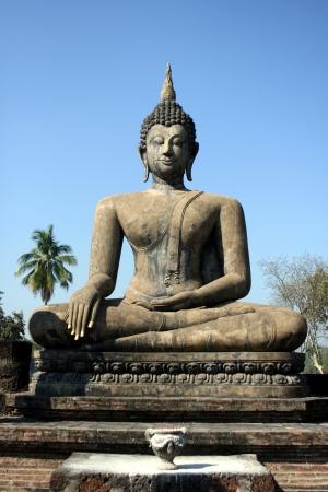 Buddha at Sukhothai, Thailand