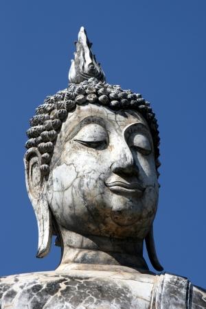 Head of Budha Stock Photo