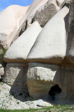 Fairy Chimneys Cappadocia, Turkey Stock Photo
