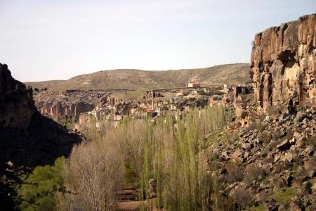 View over Ihlara Gorge, Turkey