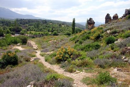 Tlos anciet lycian ruins in Turkey