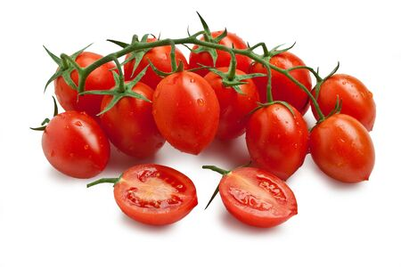 Cherry Tomato - Piccadilly Isolated on White Background? Italian Food Imagens - 131826999