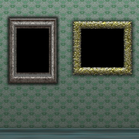 photo frame on wall Stock Photo - 12010644