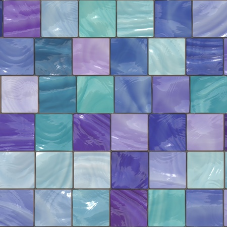blue ceramic background Stock Photo