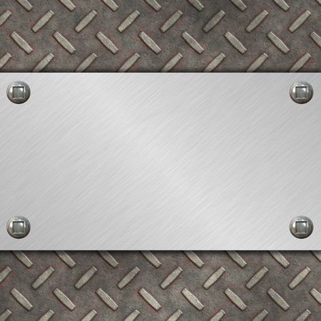 diamond plate Stock Photo - 12043285