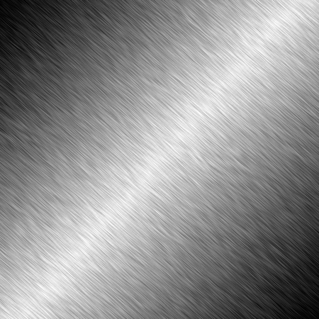 brushed metal Stock Photo - 12043420