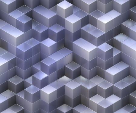 3d cubes photo